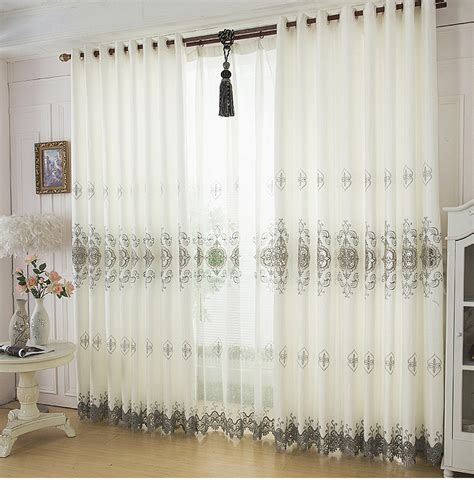 Curtain Ideas For Living Room 2015 Modern 2015 New Living Room Curtains With Lace Design