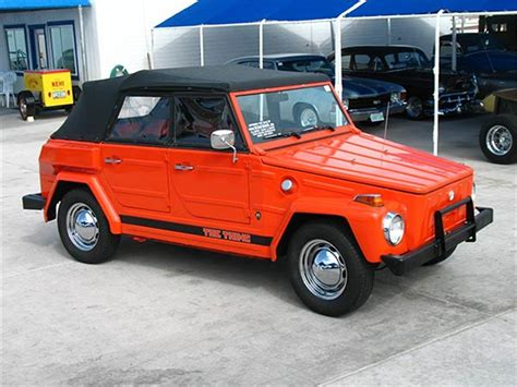 volkswagen thing 1973 volkswagen thing for sale classiccars com cc 886262