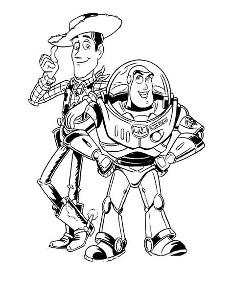 free buzz lightyear buzz coloring pages