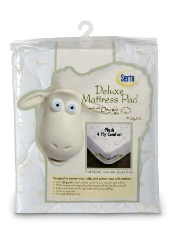 Serta Organic Waterproof Mattress Cover B004tutols Serta Organic Crib Mattress