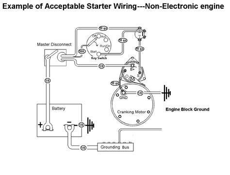 marine starter motor wiring diagram wiring diagram with
