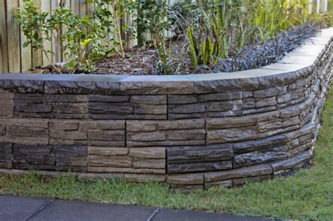 backyard retaining walls ideas retaining wall for backyard the hill