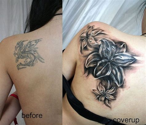 flower tattoo cover up designs cover up info