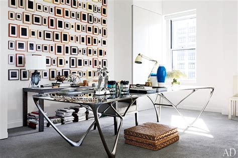 new york home design trends eclectic trends reed krakoff s arty office in new york