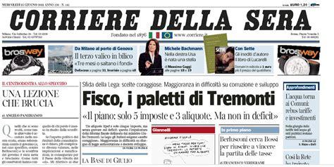 layout giornale word i nuovi font del corriere della sera il post