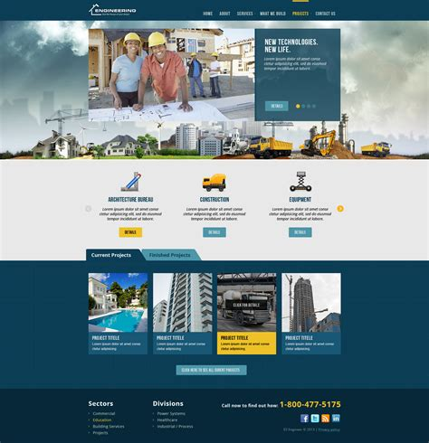 themes bootstrap construction civil engineering bootstrap responsive template theme