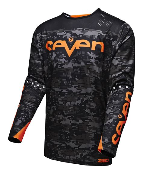 mens motocross jersey seven mx s zero camo motocross jersey ebay