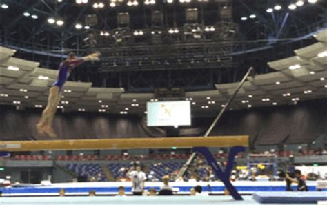 triple layout gymnastics wogymnastika a solid stuck f rated triple twisting layout
