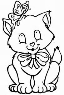 cat color cat coloring pages free printable pictures