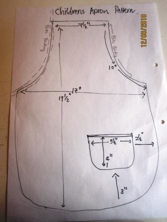dominion pattern works inc how to sew a childs apron seamsoeasy s blog