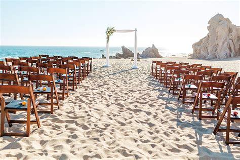 stylish romance   cabo beach villa wedding cabo