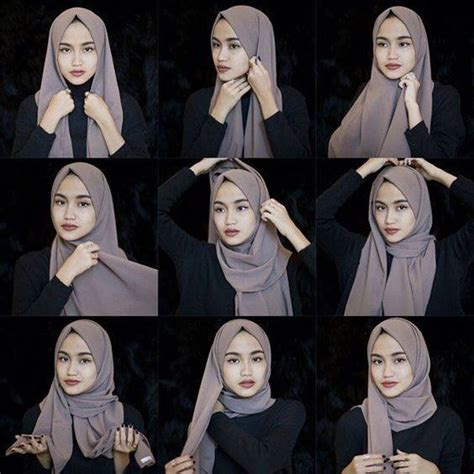 hijab tutorial everyday simple hijab simple everyday hijab tutorial hijab fashion inspiration