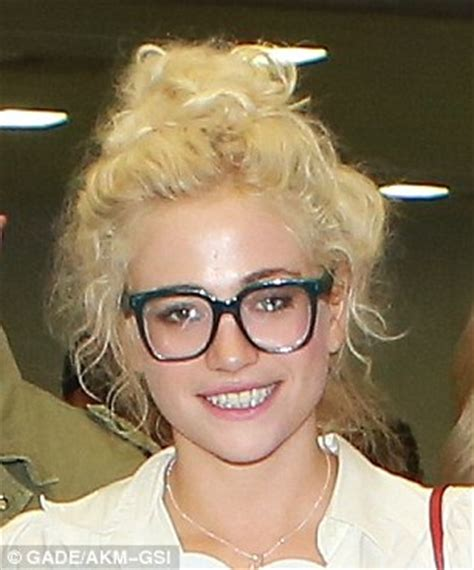 Eyeshadow Pixy No 1 pixie lott goes make up free and sports thick specs while