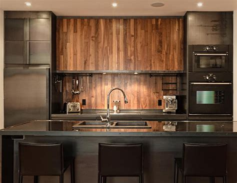 wood backsplash kitchen inspiring kitchen interiors 5 impact designs