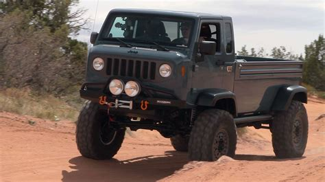 Jeep Mighty Fc Jeep Mighty Fc Concept Storms Moab The Downshift Episode
