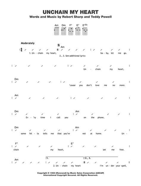 strumming pattern ugly heart tablature guitare unchain my heart de joe cocker ukulele