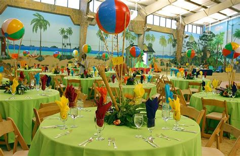 island themed events mitzvah party island style table decor jpg 846 215 550 pixels