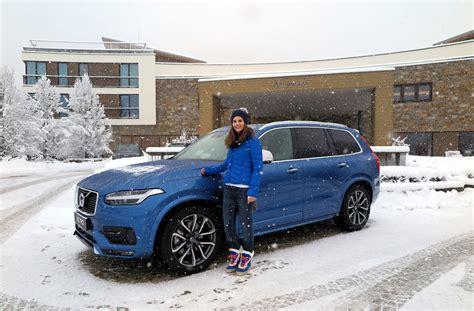 volvo test drive volvo winter test drive 2016 mit dem volvo xc90 im schnee