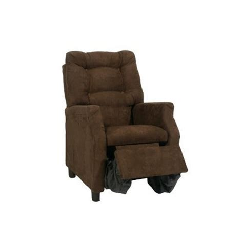 Harmony Kids Deluxe Recliner Choclolate Micro Target