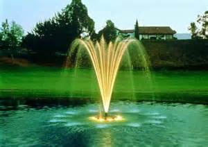 Landscaping with water fountains pool design ideas