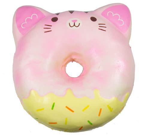 Squishy Cafe Animal Donut Cafe Animal Donut puni maru jumbo animal donut squishy with display box