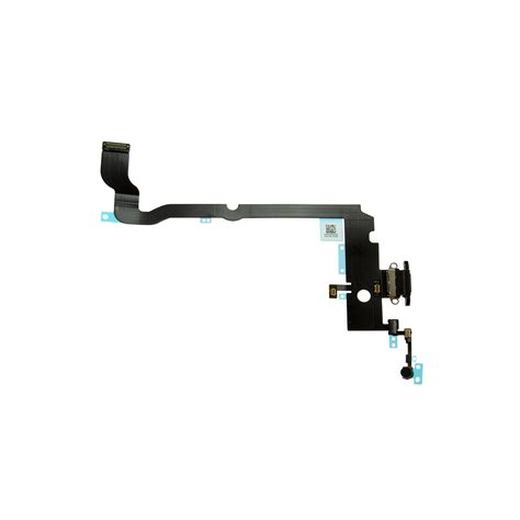 iphone xs max space gray charging port flex cable