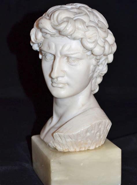 david sculpture 1960s alabaster marble michelangelo s david neoclassical