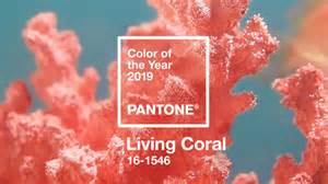 what color of is the living coral is pantone s 2019 color of the year adweek