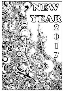 free new year for adults happy new year 2017 coloring pages free printables