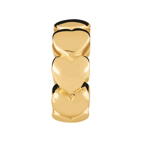 gold spacer 10kt yellow gold spacer