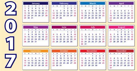 Calendã 2017 Feriados Para Imprimir Calend 193 2017 Feriados