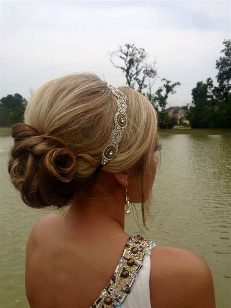 Formal Hairstyles Headbands | i want a band like this to keep my bangs out of my face