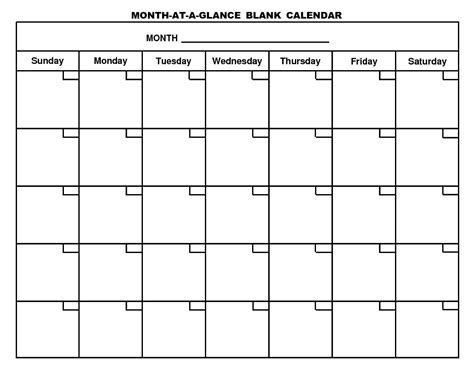 calendar blank template blank monthly calendars yahoo search results umw