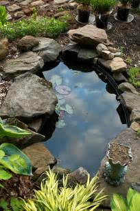 small garden pond cozy home plans