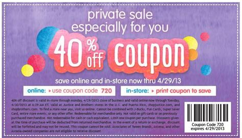 justice outlet printable coupons last day to save 40 at justice with discount code