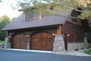 Wooden Garage Designs Double Garage Design Ideas
