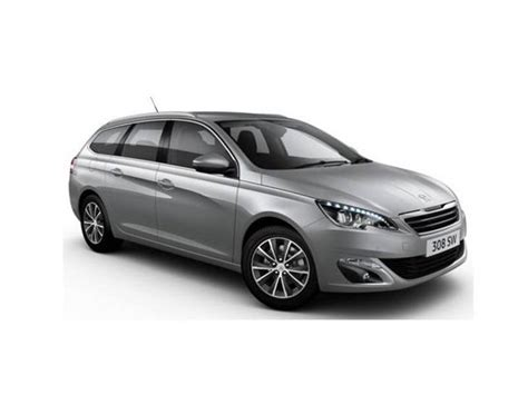 auto leasing peugeot peugeot 308 sw 1 6 bluehdi 120 allure car leasing
