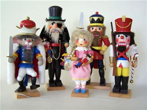nutcracker characters holiday activities decor food