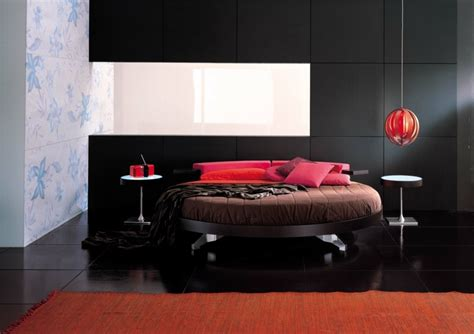 chambre lit rond lit rond design pour la chambre adulte moderne en 36 id 233 es