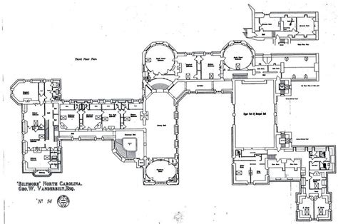 biltmore estate floor plan biltmore third floor plan with lights labeled gilded era