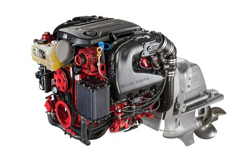 volvo penta showcases  generation  marine gas sterndrive engines boating industry
