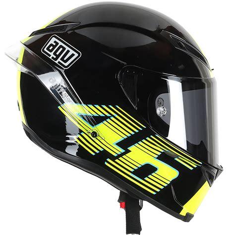 Helmet Agv Corsa agv corsa v46 black motorcycle motorbike race helmet ebay