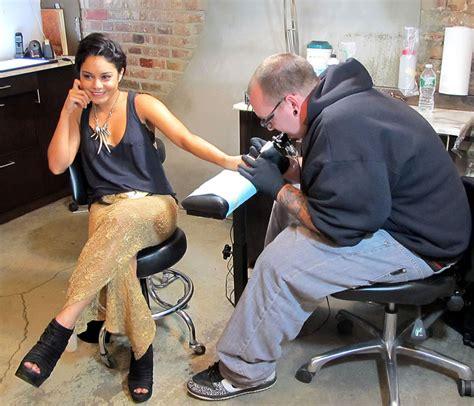 vanessa hudgens tattoo on hand celebrity tattoo of the day vanessa hudgens new 2 tats