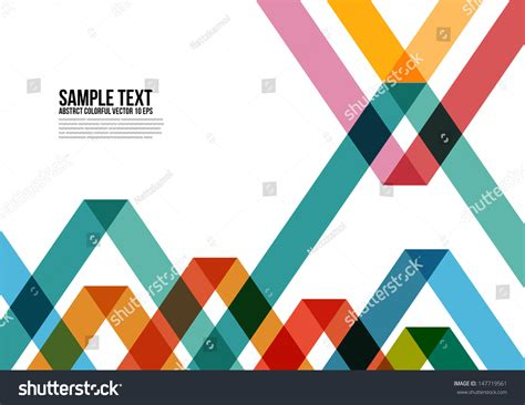 9 best images of magazine layout cover abstract colorful abstract colorful triangle pattern background cover stock