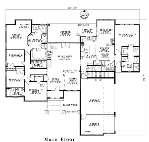 house plans for family of 5 house plan 82117 craftsman luxury plan with 3003 sq ft 5 bedrooms 4 bathrooms 3