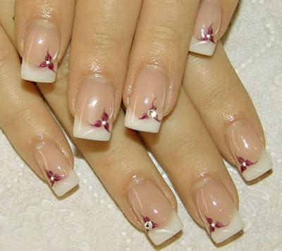 latest trend in french manicures for older women latest french nails designs pictures fashion world