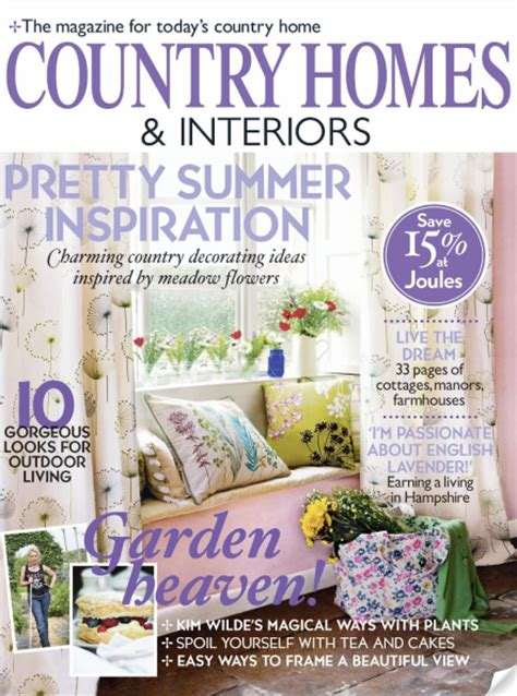 country home and interiors magazine magazine review country homes and interiors june 2010 bright bazaar by will
