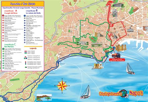 naples italy map naples tourist map naples italy mappery