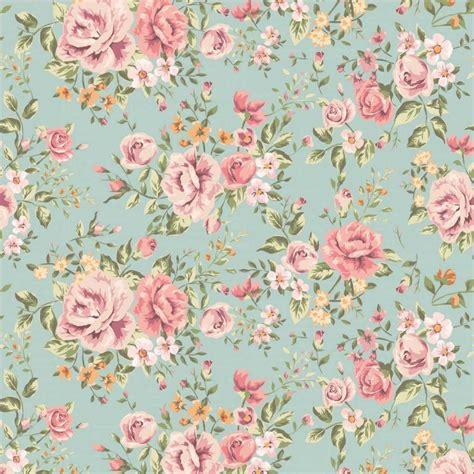 floral pattern on pinterest papel de parede floral rosas em cores laranja verde e