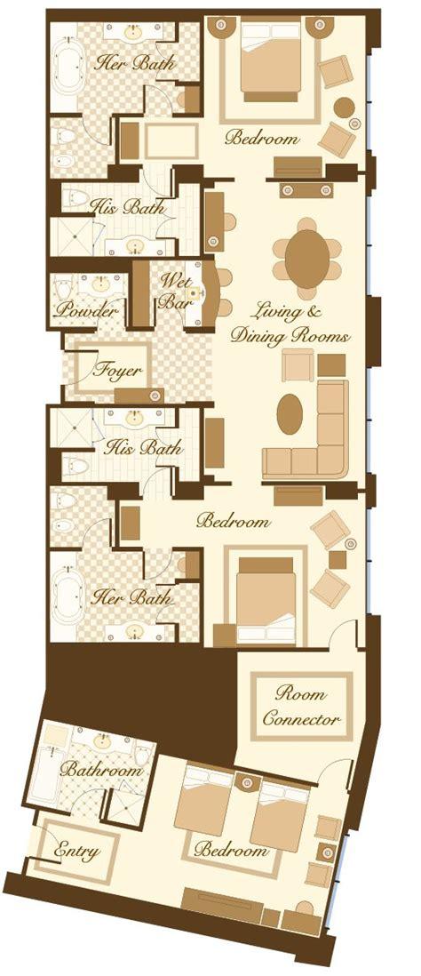 carolina club floor plan las vegas suite bellagio penthouse suite floorplan 2